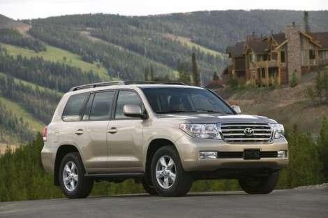 Toyota Land Cruser - один из самых угоняемых автомобилей в 2009 году