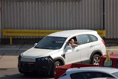 Chevrolet Captiva: испытания начались