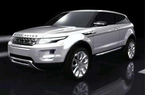 Range Rover LRX - маленький, но престижный