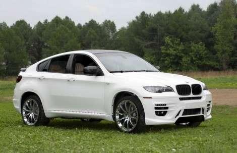 BMW X6 прокачали в Москве