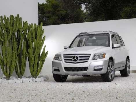 Кроссовер Mercedes-Benz GLK станет экономичнее