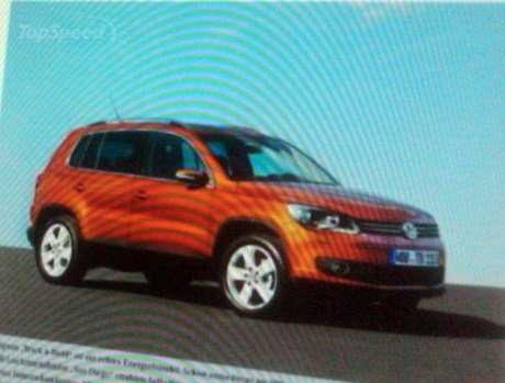 Обновленный Volkswagen Tiguan «засвечен»