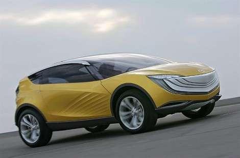 Кроссовер Mazda CX-5 появится в 2011 году