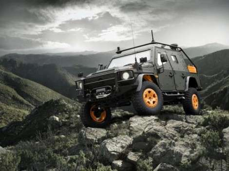 Военный концепт-кар на базе Mercedes-Benz G-Class