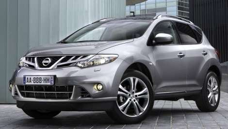 Новое лицо Nissan Murano