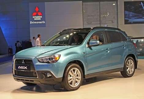 Московский автосалон 2010: Mitsubishi представила компактный кроссовер ASX