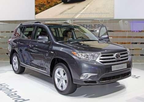 Московский автосалон 2010: Toyota представила кроссовер Highlander