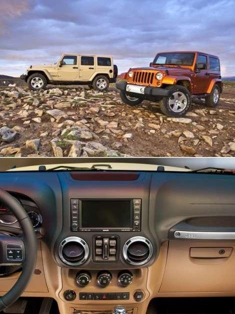 Jeep Wrangler: внутренняя модернизация