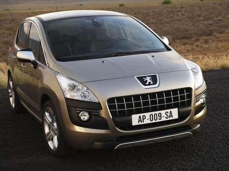 Московский автосалон 2010: кроссовер Peugeot 3008 – сразу в продажу