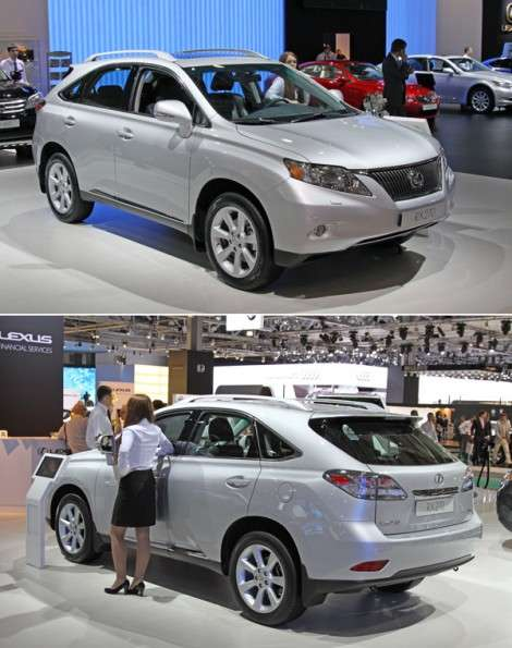Московский автосалон 2010: Lexus продемонстрировал бюджетный кроссовер RX 270