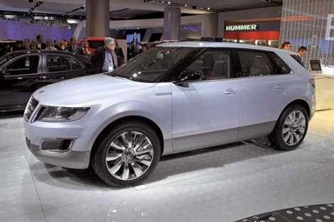 Премьера кроссовера Saab 9-4X состоится в ноябре