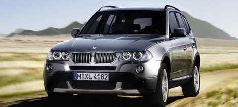 BMW X3: конвейер запущен