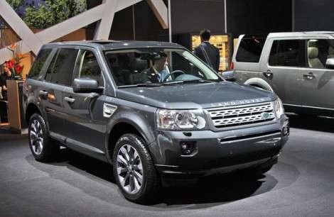 Московский автосалон 2010: Land Rover объявила цены на обновленный Freelander