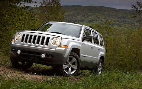 Jeep Patriot подвергся рестайлингу