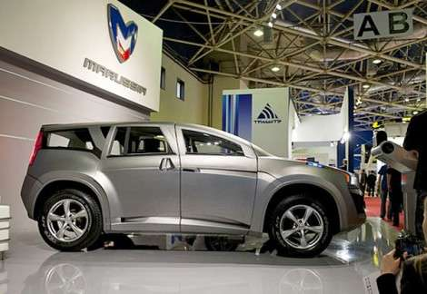 Marussia открыла первый автосалон