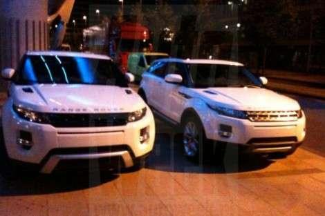 Интересные подробности о Range Rover Evoque