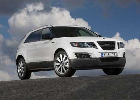 Saab представил кроссовер 9-4X