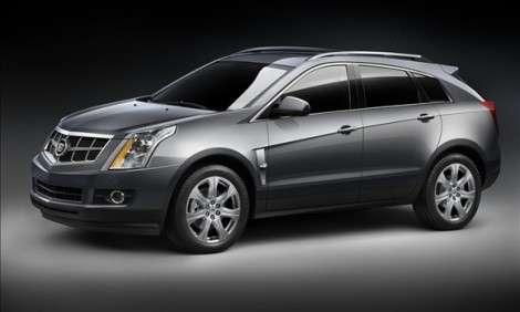 Компания GM отзовет почти 4000 кроссоверов Cadillac SRX