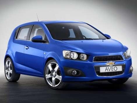 Новый кроссовер Chevrolet на базе Aveo?