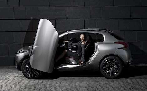 Парижский автосалон 2010: концептуальный компактный кроссовер от Peugeot