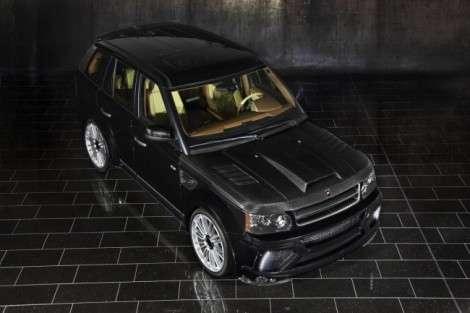 Ателье Mansory выпустило юбилей пакет тюнинга для Range Rover Sport
