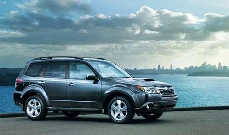 Subaru презентовала обновленный Forester