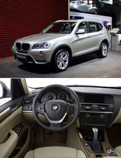 Парижский автосалон 2010: премиально-практичный BMW X3