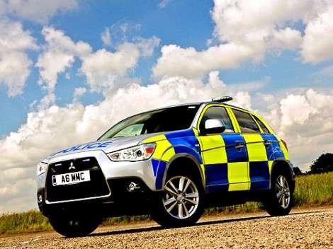 Британские полицейские будут ловить преступников на Mitsubishi