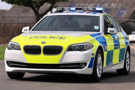 Британские полицейские предпочитают дизельные автомобили