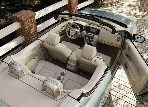 Nissan официально представила кабриолет на базе CrossCabriolet