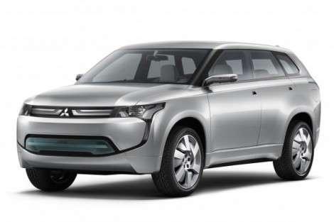 Гибридный Mitsubishi выйдет через 3 года
