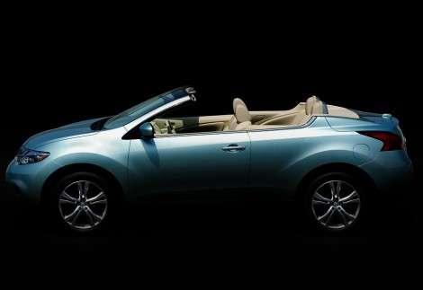 Первое изображение кабриолета на базе Nissan Murano