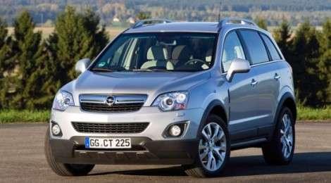 Opel Antara после модернизации станет мощнее