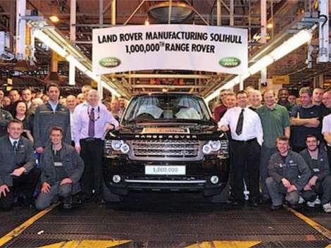 В Солихалле выпустили миллионный Range Rover