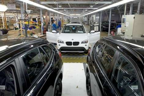 В Калининграде запустили конвейер по сборке BMW X1