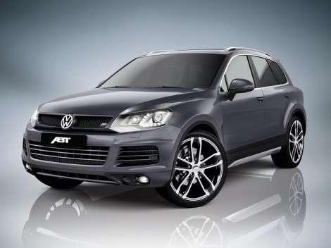 ABT Spotsline прокачала Volkswagen Touareg до 385 л. с.
