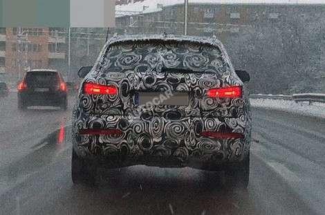 Первый взгляд на засекреченную Audi Q3