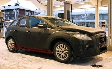 Mazda приступила к испытаниям компактного кроссовера