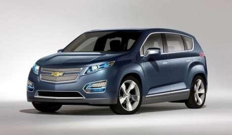В Детройте Chevrolet покажет электрокроссовер на базе Volt