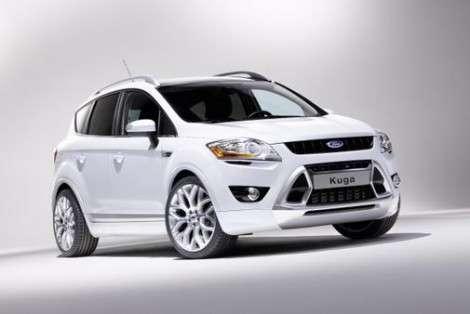 Компания Ford подготовила прототип кроссовера Kuga