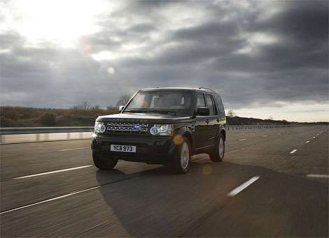 Land Rover Discovery в броне