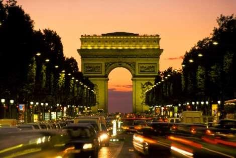 Париж закроют для внедорожников и дизельных машин