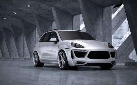 Московский тюнинг Porsche Cayenne. Вариант №2
