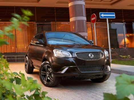 Sollers приступил к сборке SsangYong New Actyon