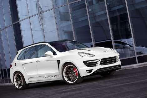 Россияне экстремально прокачали Porsche Cayenne