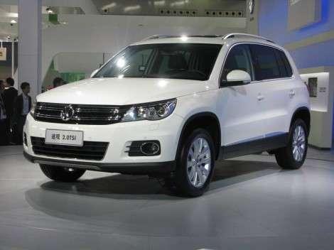 Рестайлиннговый VW Tiguan продемонстрируют в Женеве