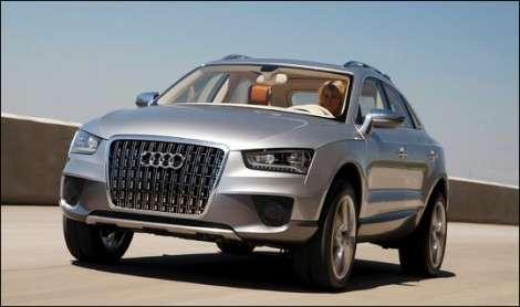 Новый Audi Q3 будет абсолютно новым