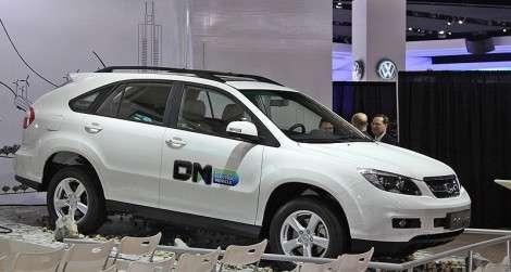 Детройт 2011: BYD S6 DM, он же Lexus RX