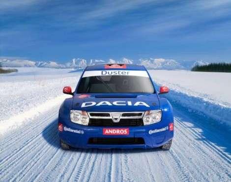 Dacia Duster в гоночном исполнении