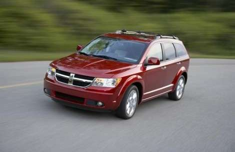 В кроссоверах Dodge Journey обнаружена проблема с подушками безопасности